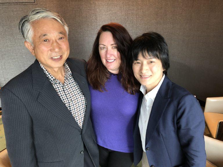 Midori Yamamoto with Kathleen Flinn and Mr. Ishii
