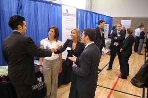 interpreting at a trade show